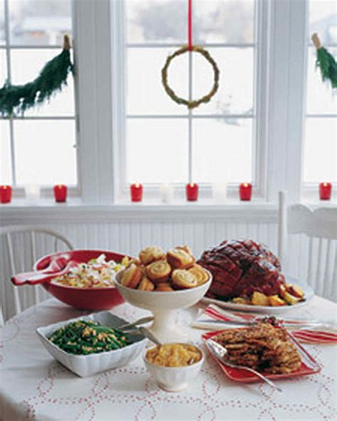 christmas eve food casual buffet ideas casual