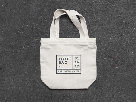 Baper Tote Bag small canvas tote bag mockup mockupworld