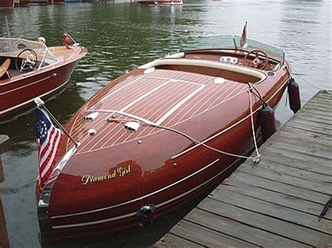 wooden boat expensive minett shields