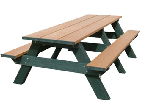 standard picnic table size picnic table standard a frame picnic table american
