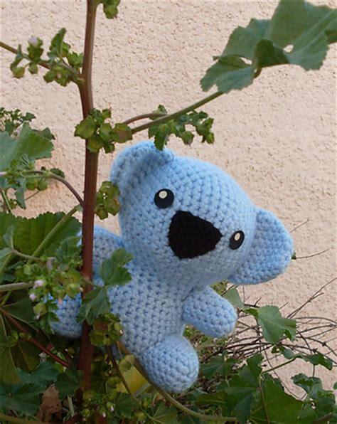 crochet pattern koala bear crazy for crochet koalas 10 free patterns