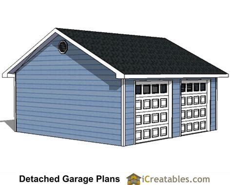 2 door garage 22x22 2 car 2 door detached garage eve over door plans