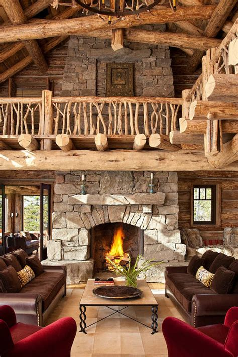 Rustic Decorating Ideas For Living Room | 40 awesome rustic living room decorating ideas decoholic