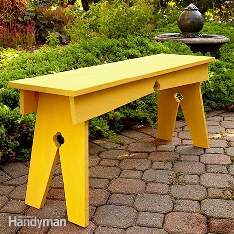 diy wood benches 20 garden and outdoor bench plans you will love to build home and gardening ideas