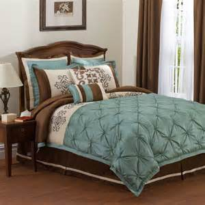 teal brown bedding for the home bedding