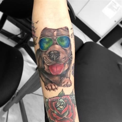 70 pitbull tattoo designs amp meanings for the dog lovers