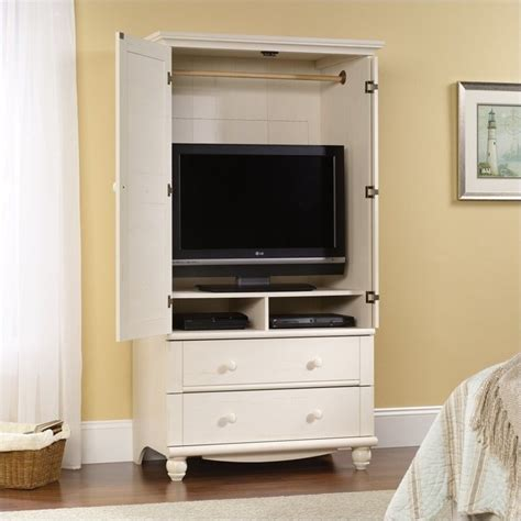 white armoire cabinet storage wardrobe bedroom furniture
