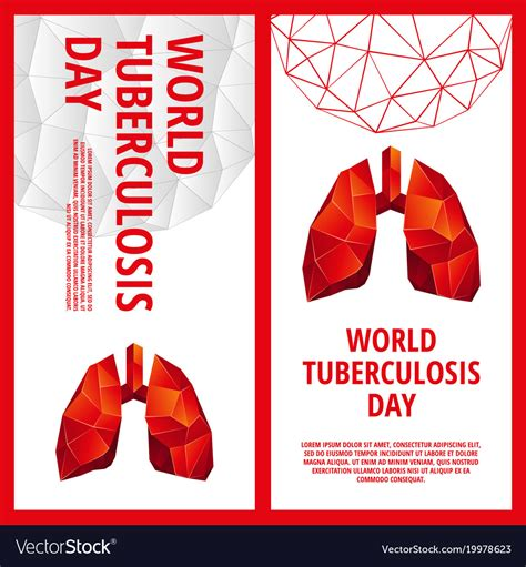 World Tuberculosis Day Flyer Template Royalty Free Vector Royalty Free Flyer Templates