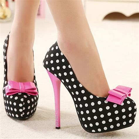 shoes bowties and heels on