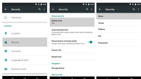 disable lock screen android how to disable lock screen in android softwarevilla news