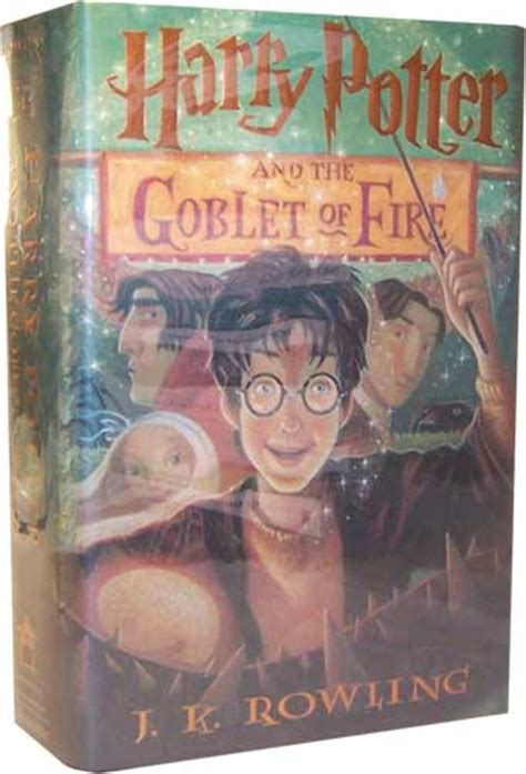 book report on harry potter and the goblet of collecting harry potter books