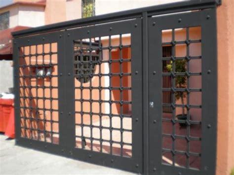 imagenes de rejas minimalistas portones de herrer 237 a dise 241 os que har 225 n lucir la fachada