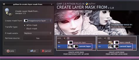 fun with layer masks gimp 2 8 tutorial youtube create layer mask from by slybug on deviantart