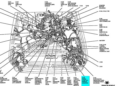 97 ford taurus engine diagram get free image about wiring diagram