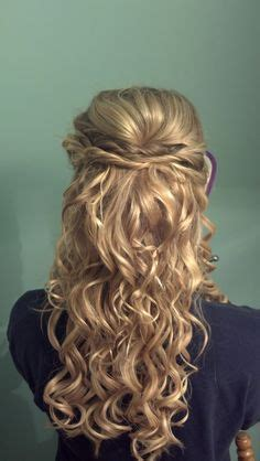 hanhs prom hair for dummies 5 different looks youtube 1000 images about hair half up half down on pinterest