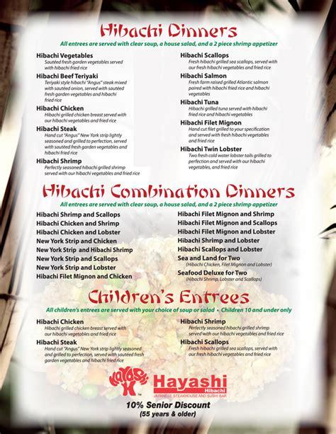Japanese Kitchen El Paso Menu Sushi Restaurant Japanese Steak House