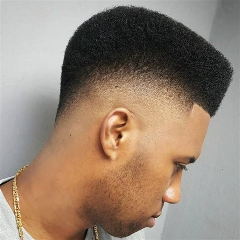 picture of semi flatop tapered afro haircut picture of semi flatop tapered afro haircut flat top