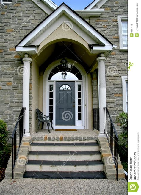 Free Modern House Plans modern house entrance royalty free stock photo image