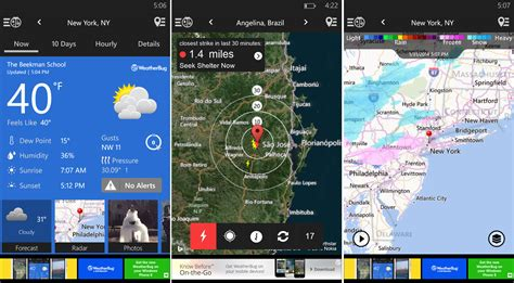weatherbug app for android phone weatherbug provides realtime weather info to smart phone users tlists