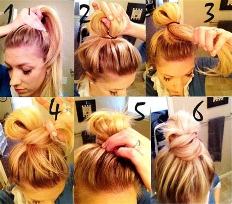 messy hair styles with frost ing done 10 high bun tutorials cute hairstyles for everyday