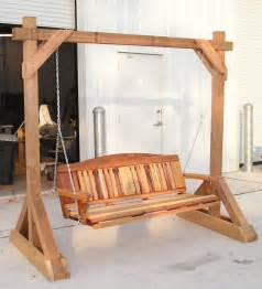woodwork diy free standing porch swing plans pdf