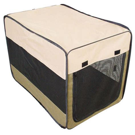 medium sized kennel sportsman 36 in portable pet kennel for medium sized pets ssppk36 the home depot