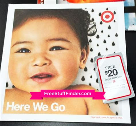 Target Baby Registry 20 Gift Card - possible free 20 target gift card w registry check mail