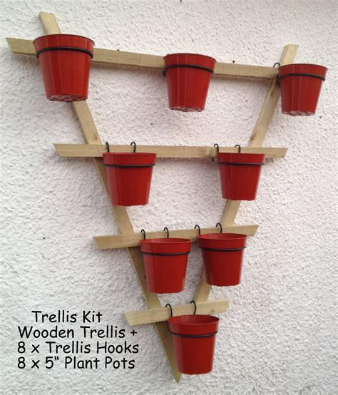 hanging flower pot hooks trellis hooks plant pot holders plant pot rings to hang