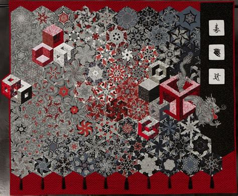 One Block Quilt by One Block Quilts Kaleidescope