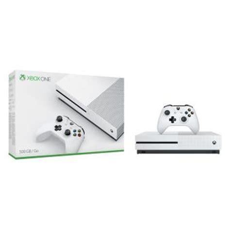 console by microsoft console microsoft xbox one s 500 go blanche console de