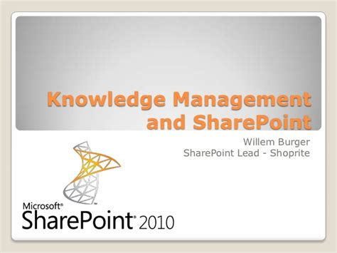 sharepoint knowledge management template knowledge management and sharepoint
