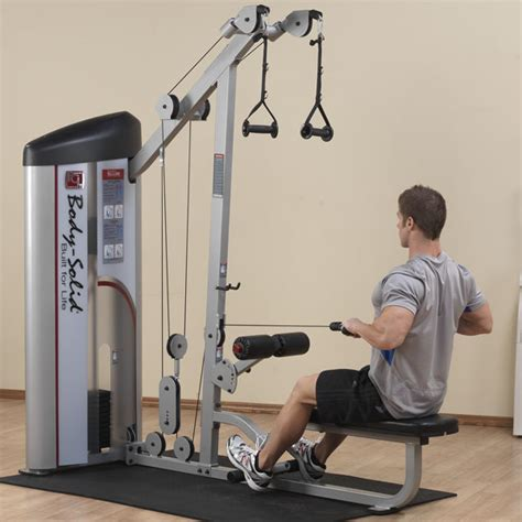 s2lat series ii lat pulldown seated row solid
