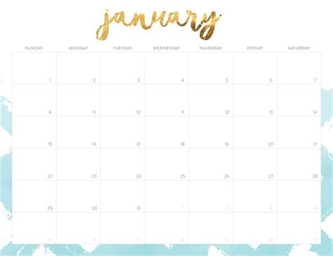 printable calendar 2017 pretty oh so lovely blog is excited to share tons of free 2017
