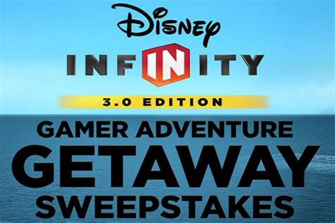 Disney Prizes Sweepstakes - disney infinity 3 0 gamer adventure getaway sweepstakes sweepstakesbible