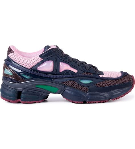 Raf Simons Shoes Pink by Raf Simons Adidas X Raf Simons Pink Ozweego 2 Runner In Runner On Basic Sole Shoe Hbx
