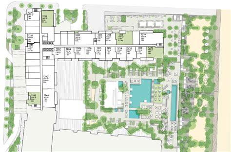 condo building plans floorplans for miami penthouse 1 hotel homes south