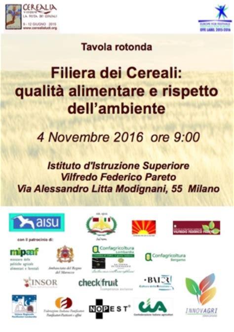 la filiera alimentare filiera dei cereali qualit 224 alimentare e rispetto dell