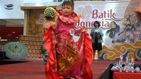 Fashion Anak fashion show anak tema baju adat indonesia