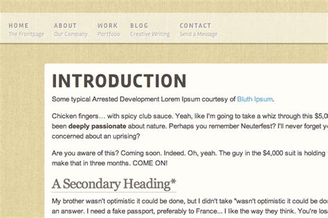 header layout in css unique css3 header styles for copyfitting typography