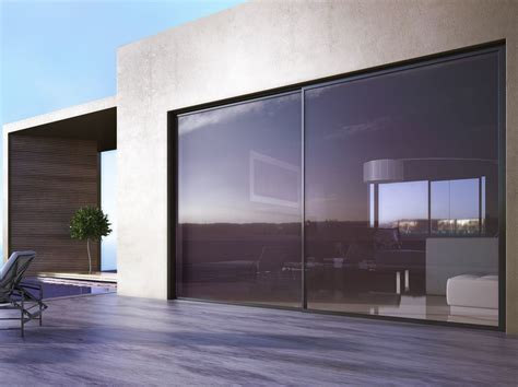 lade da esterno parete porta finestra scorrevole smartia s560 alumil