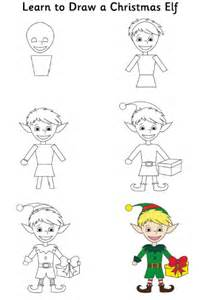christmas elf apprentice 6 steps daily doodly