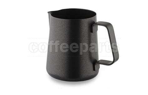 Yami Teflon Milk Jug 300 Ml Black ilsa 300ml teflon black milk jug coffee parts