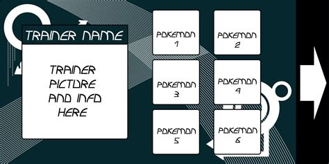 Blank Trainer Card Template by Blank Trainer Card By Yoshikin On Deviantart