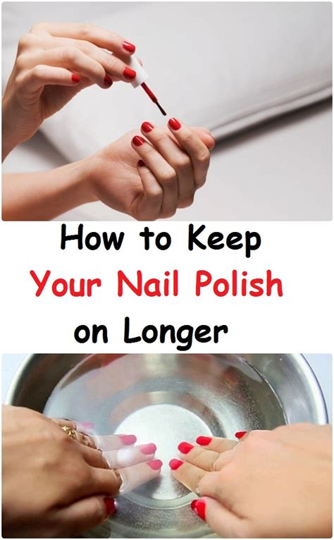 How To Maintain Healthy Beautiful Nails by How To Keep Your Nail On Longer All4healthylife