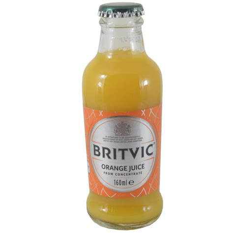 One Concentrate Detox Drink In Stores by Britvic Orange Juice From Concentrate 160ml Approved Food