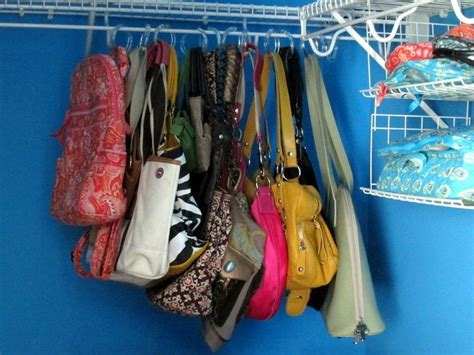 How To Hang Purses In Closet by 143 Best Images About Organize On Printable Menu Organizations And Thirty One