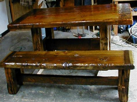 rustic dining room table with bench wood dining benches rustic farmhouse dining table rustic