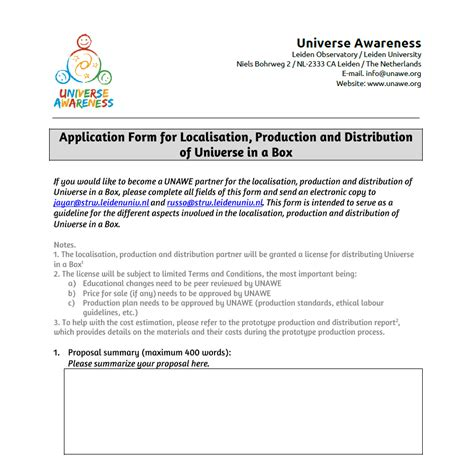 Template Distribution Agreement universe in a box localisation production and