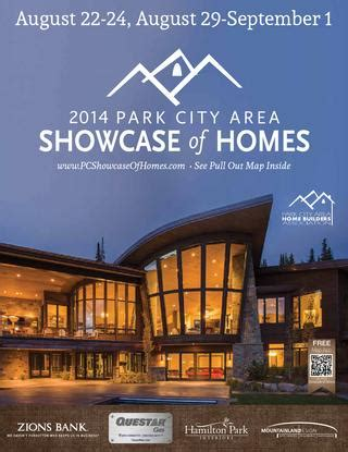 2014 park city area showcase of homes by utah media