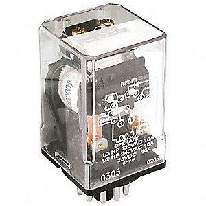 schneider electric latching relay 11 pins octal 120vac